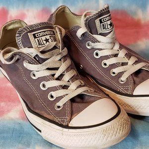 Converse All Star Low Top Lace Up Gray Mens 6